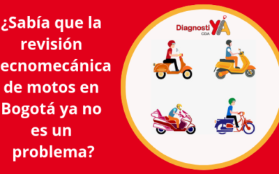 ¿Sabía que la revisión tecnomecánica de motos en Bogotá ya no es un problema?