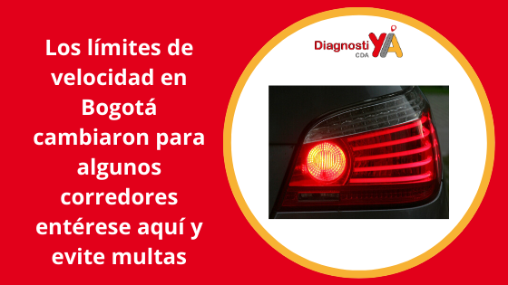 Los límites de velocidad en Bogotá cambiaron para algunos corredores entérese aquí y evite multas