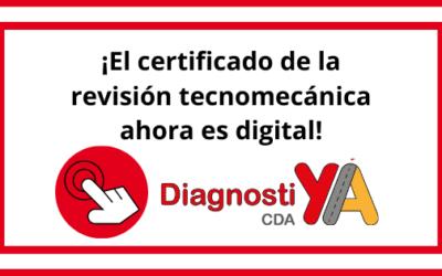 El certificado de la revisión tecnomecánica ahora es digital