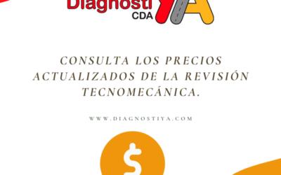 Consulta los precios actualizados de la revisión tecnomecánica.