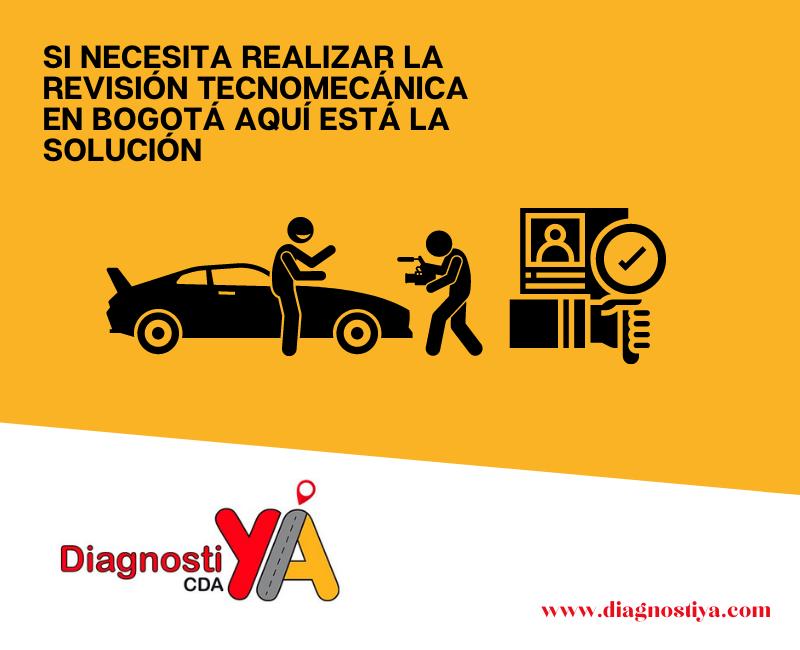 Si necesita realizar la revisión tecnomecánica en Bogotá aquí está la solución
